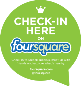 Foursquare-Check-In
