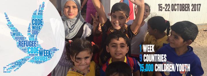 Unge flygtninge programmerer sig ud af flygtningelejren