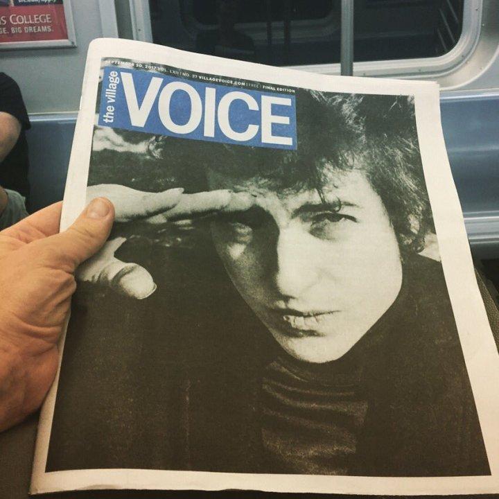 I dag udkom den sidste printudgave af VillageVoice
