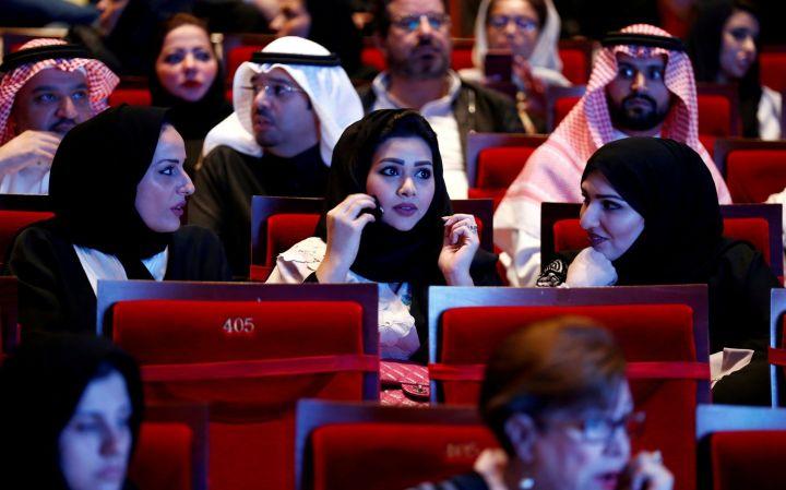 Saudi Arabien åbner sin første biograf i over 35år