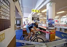 Cykelcross på kontoret