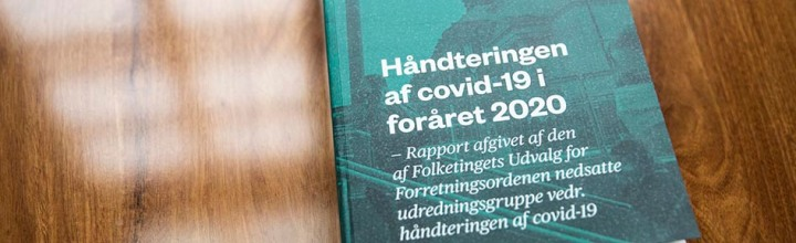 """""""Håndteringen af covid-19 i foråret2020"""""""