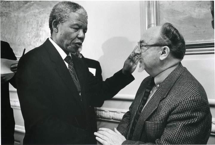 Nelson Mandela påArbejdermuseet
