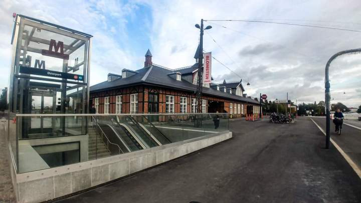 Østerports stationsplads eråbnet